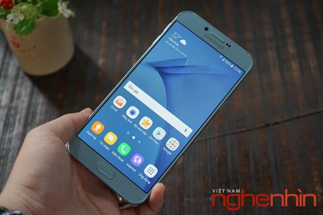 Trên tay Galaxy A8 2016 đầu tiên Việt Nam giá 9 triệu ảnh 11