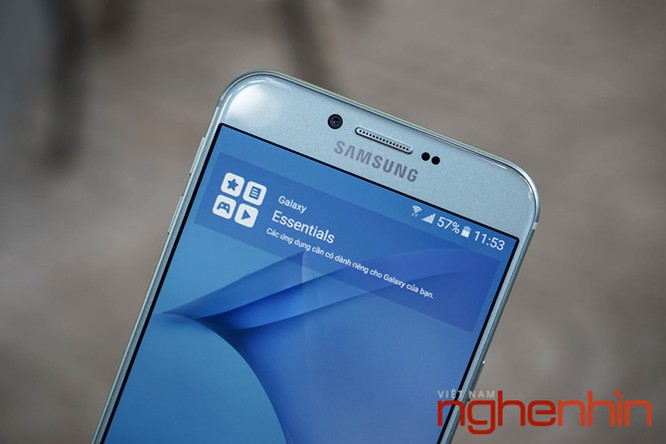 Trên tay Galaxy A8 2016 đầu tiên Việt Nam giá 9 triệu ảnh 12