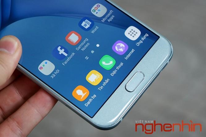 Trên tay Galaxy A8 2016 đầu tiên Việt Nam giá 9 triệu ảnh 13