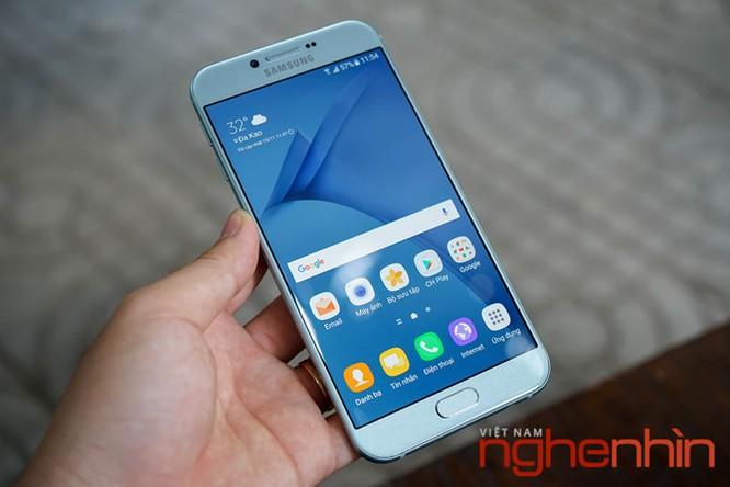 Trên tay Galaxy A8 2016 đầu tiên Việt Nam giá 9 triệu ảnh 1
