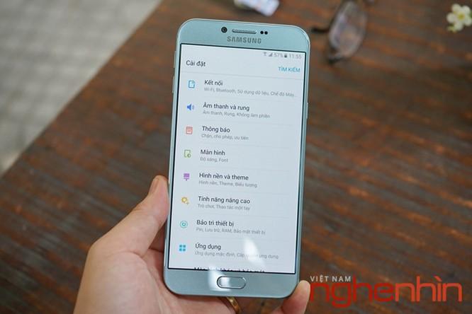 Trên tay Galaxy A8 2016 đầu tiên Việt Nam giá 9 triệu ảnh 19