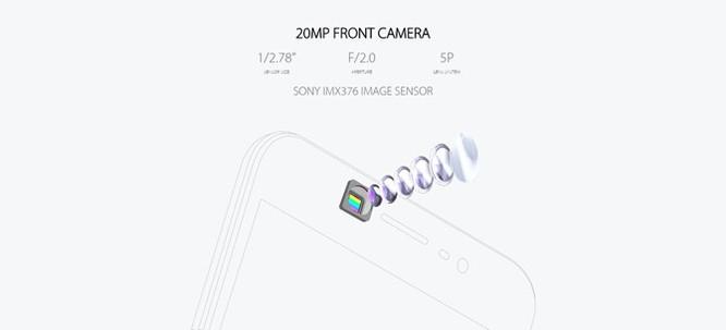 Vivo V5 ra mắt: Selfie 20MP 'vô địch thế giới', giá 265USD ảnh 4