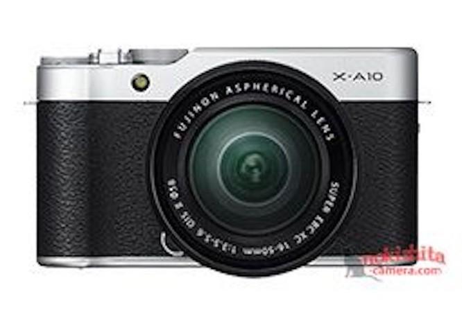 Fujifilm X-A10 chưa ra mắt đã bị lộ ảnh 1