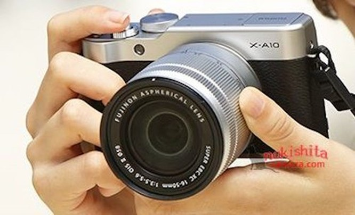 Fujifilm X-A10 chưa ra mắt đã bị lộ ảnh 2