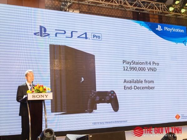 PlayStation 4 Pro chính hãng giá 13 triệu đồng ảnh 1