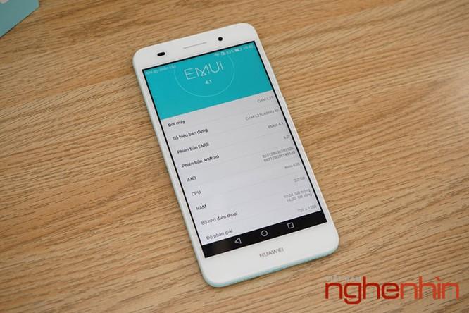 Mở hộp Huawei Y6II xanh ngọc giá 3 triệu vừa lên kệ ảnh 10