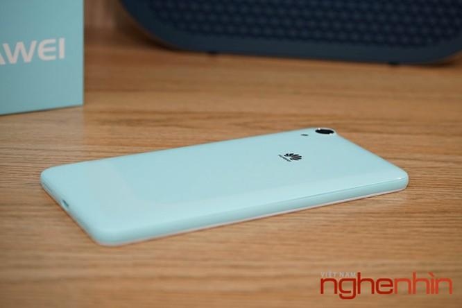 Mở hộp Huawei Y6II xanh ngọc giá 3 triệu vừa lên kệ ảnh 6
