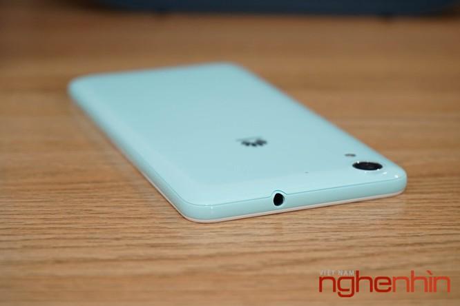 Mở hộp Huawei Y6II xanh ngọc giá 3 triệu vừa lên kệ ảnh 8