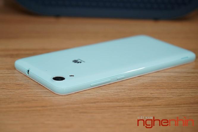 Mở hộp Huawei Y6II xanh ngọc giá 3 triệu vừa lên kệ ảnh 9