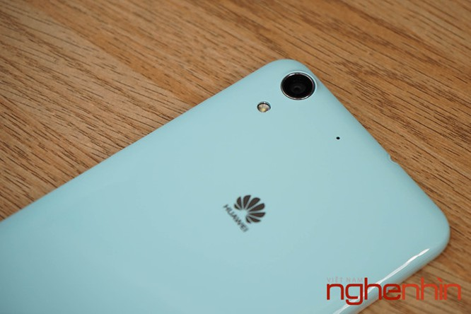 Mở hộp Huawei Y6II xanh ngọc giá 3 triệu vừa lên kệ ảnh 12