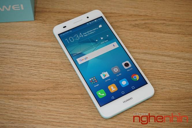Mở hộp Huawei Y6II xanh ngọc giá 3 triệu vừa lên kệ ảnh 3