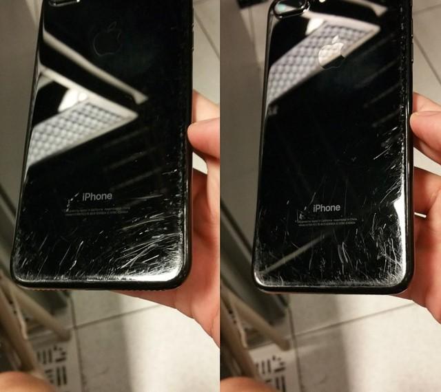 Người dùng chê iPhone 7 Jet Black dễ rơi và xước ảnh 2