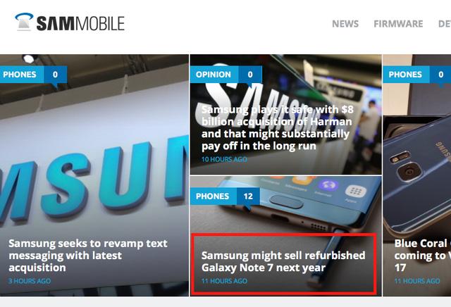 Samsung không bán Galaxy Note 7 dạng tân trang ảnh 2
