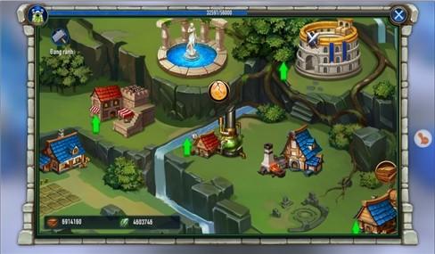 Một số hình ảnh trong game.