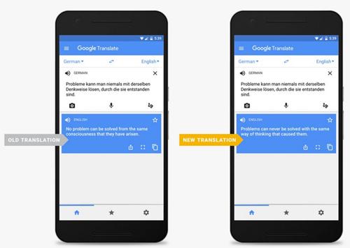 Google Translate được nâng cấp, dịch chính xác hơn ảnh 1