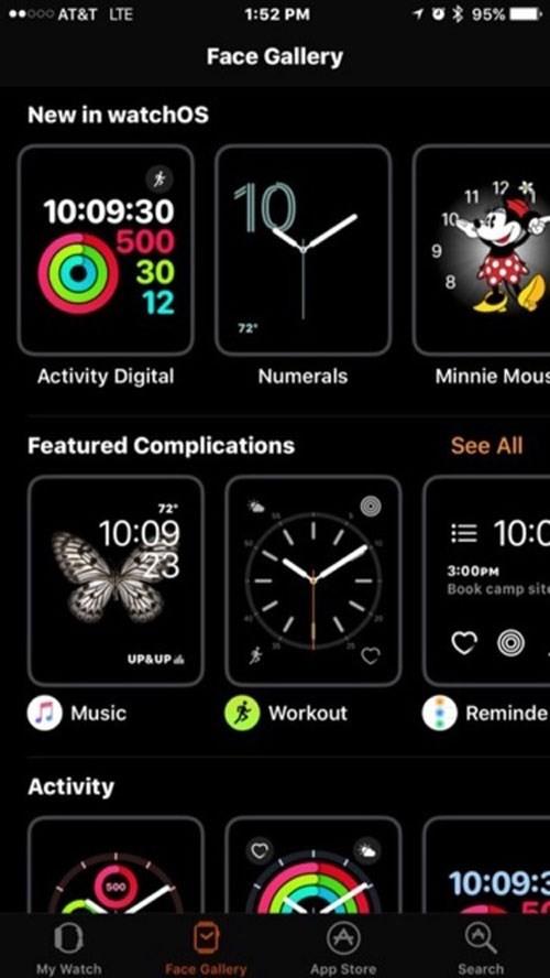 watchOS 3 thay đổi diện mạo cho Apple Watch ảnh 3