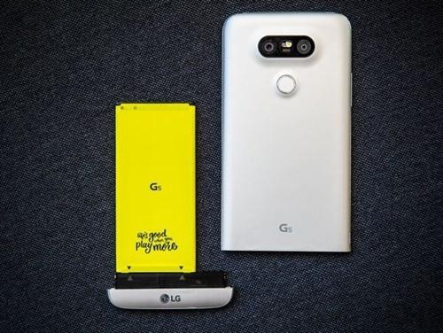 LG G6 cũng có thể tháo rời pin ảnh 1