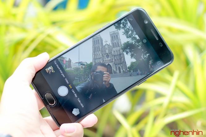 Trên tay Oppo F1s đen nhám đầu tiên tại Việt Nam ảnh 11