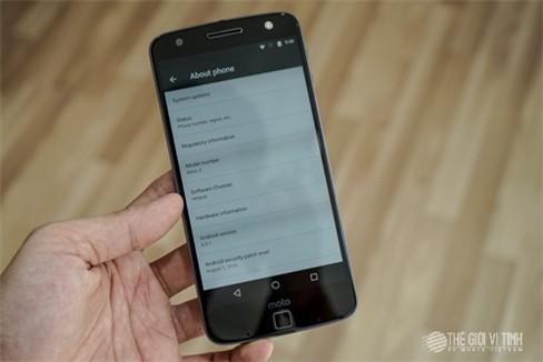 Khui hộp Motorola Moto Z Play