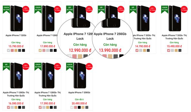 iPhone 7 lock đổ bộ về Việt Nam giá 13-15 triệu ảnh 3