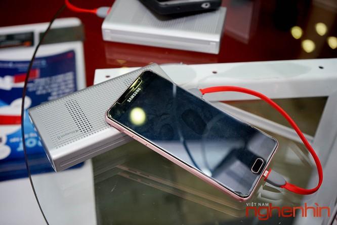 Vietnam Expo 2016: loa Bluetooth kiêm sạc dự phòng Bluepot ảnh 2