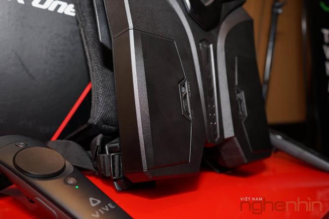 Ba-lô thực tế ảo MSI VR One lên kệ Việt giá 55 triệu ảnh 5