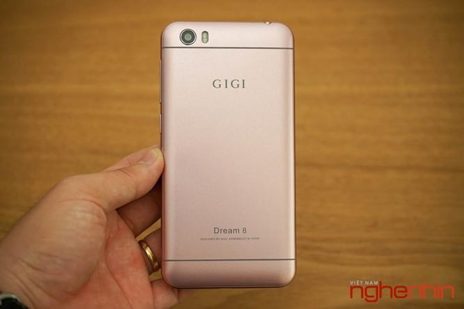 Trên tay smartphone lạ Gigi Dream 8 sắp lên kệ Việt giá 2 triệu ảnh 1
