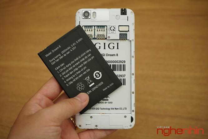 Trên tay smartphone lạ Gigi Dream 8 sắp lên kệ Việt giá 2 triệu ảnh 8