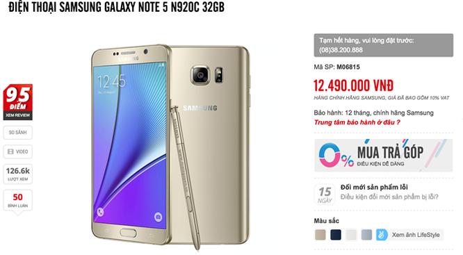 Galaxy S7/S7 edge giảm giá cả triệu đồng chào giáng sinh ảnh 3