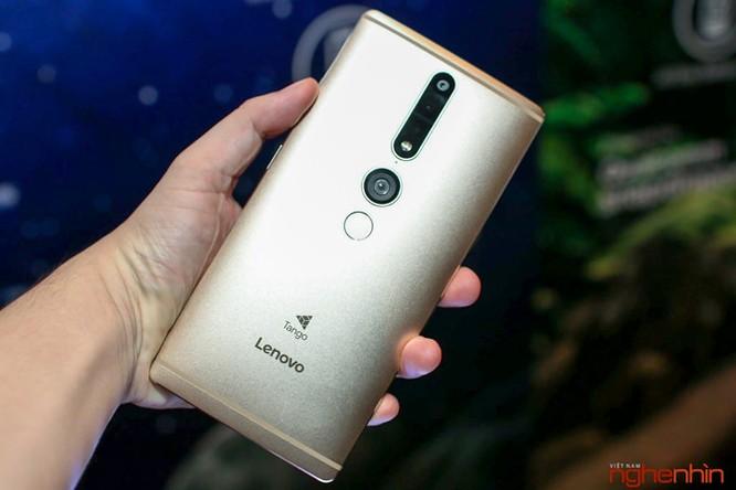 Lenovo Phab2 Pro với 4 camera giá 12 triệu ra mắt ảnh 1