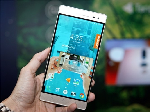YOGA Book và mẫu smartphone PHAB2 Pro