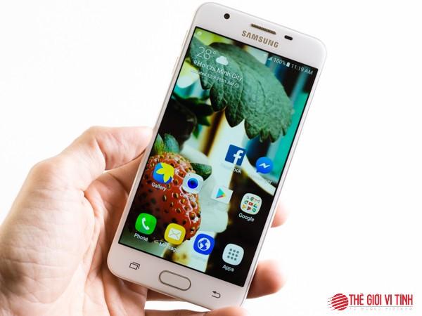 Cận cảnh smartphone Samsung Galaxy J5 Prime ảnh 1