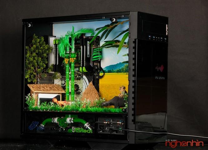 Ngắm modding PC 'Bức họa đồng quê' cực đẹp và mạnh ảnh 1
