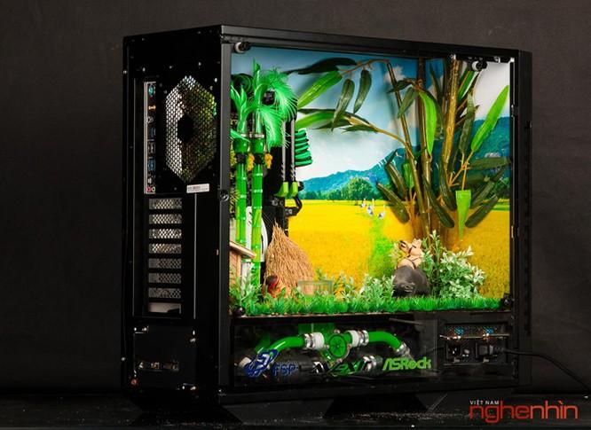 Ngắm modding PC 'Bức họa đồng quê' cực đẹp và mạnh ảnh 2