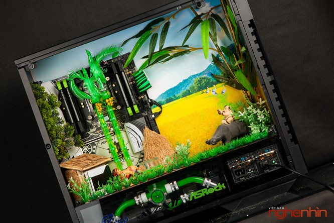 Ngắm modding PC 'Bức họa đồng quê' cực đẹp và mạnh ảnh 3
