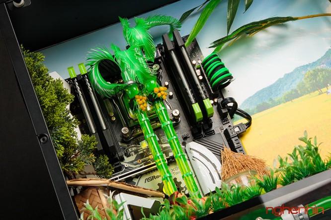 Ngắm modding PC 'Bức họa đồng quê' cực đẹp và mạnh ảnh 4