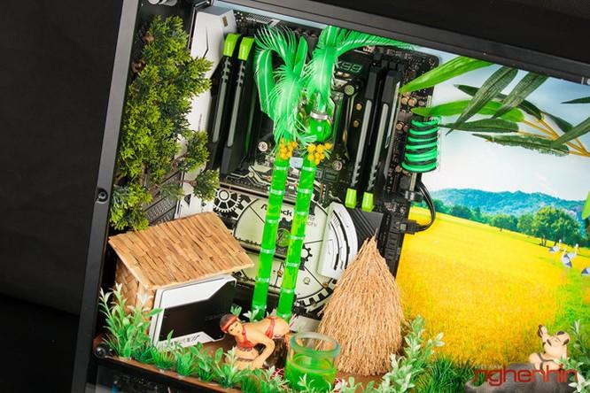 Ngắm modding PC 'Bức họa đồng quê' cực đẹp và mạnh ảnh 10