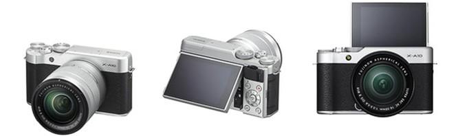 Fujiflm ra mắt máy ảnh X-A10 giá rẻ cho tín đồ selfie ảnh 1