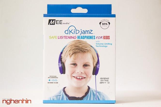 Mở hộp tai nghe cho trẻ em Mee Kid Jamz ảnh 1