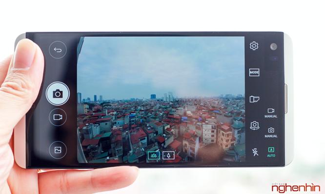Thử nghiệm nhanh camera kép trên smartphone LG V20 ảnh 1