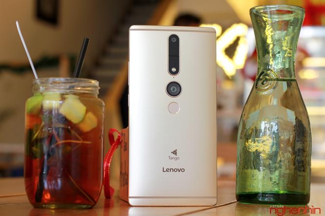 Trên tay Lenovo Phab2 Pro - smartphone sở hữu 4 camera ảnh 1
