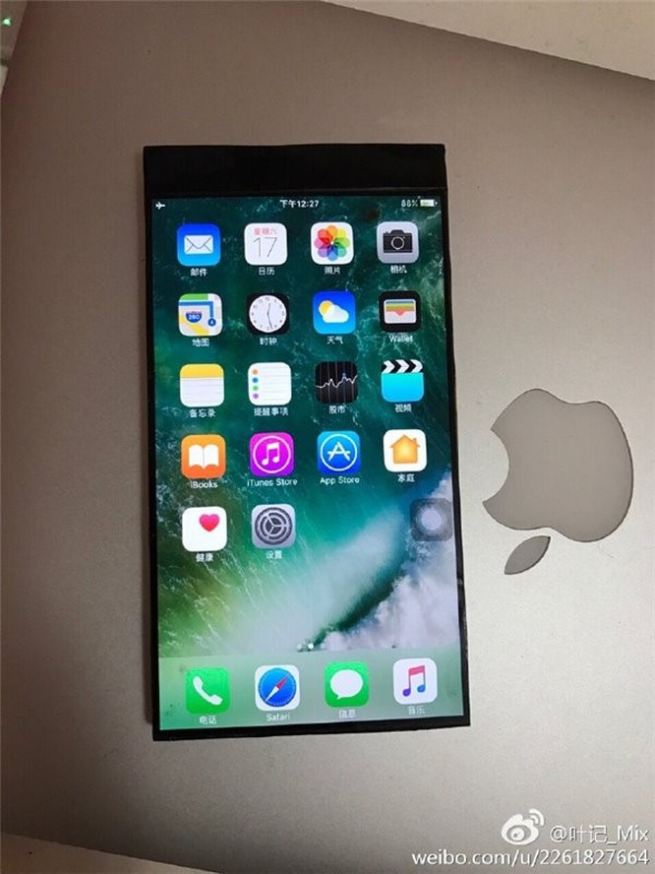 Biến iPhone 6s Plus thành Xiaomi Mi MIX cực sexy ảnh 1