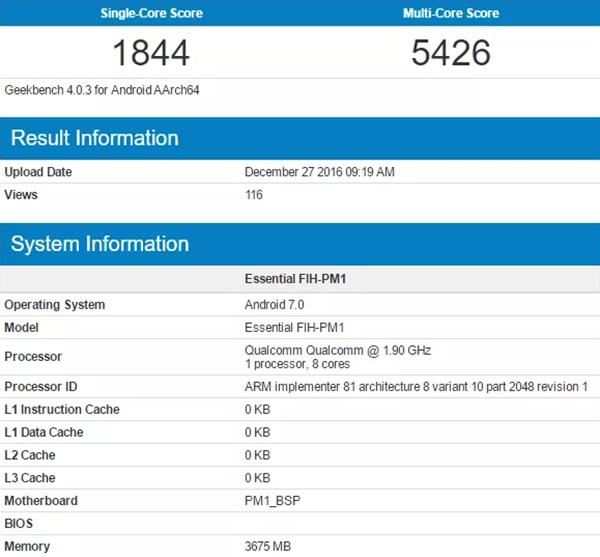 Rò rỉ kết quả thử nghiệm Snapdragon 835 ảnh 1