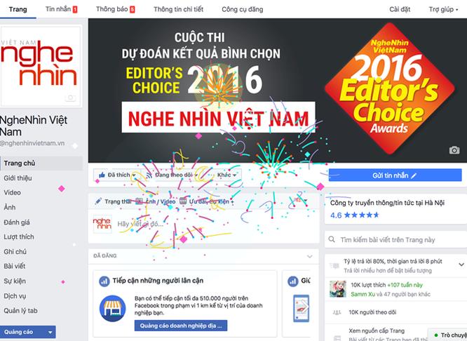 Facebook hỗ trợ ''bắn pháo hoa' Chúc mừng Năm mới ảnh 1