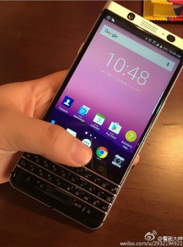 TCL khoe smartphone BlackBerry Mercury sắp ra mắt ảnh 1