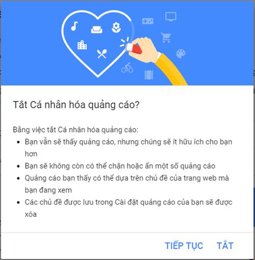 'Loại bỏ' các quảng cáo khó chịu của Google ảnh 5