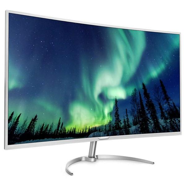 Philips giới thiệu màn hình cong 4K khung hình khủng ảnh 1