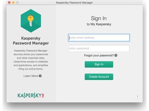 Giao diện Kaspersky