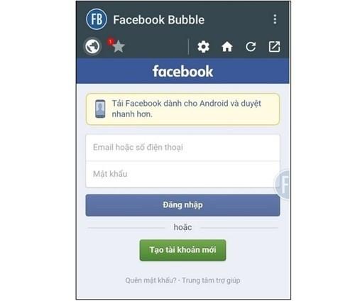 Đăng nhập cùng lúc 2 tài khoản Facebook trên Android ảnh 1