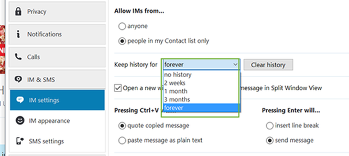Xóa lịch sử chat trên Skype ảnh 4